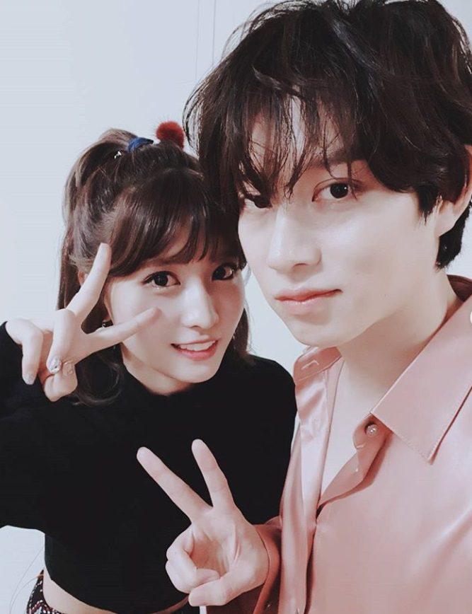 คิมฮีชอล SJ – โมโมะ TWICE