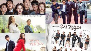 สรุปเรตติ้งซีรีส์เกาหลีวันที่ 19 พฤศจิกายน 2559