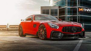 ชม Mercedes-AMG GT สีแดงหน้าดุ ที่มากับขุมพลังแบบเหลือๆ 613 แรงม้า