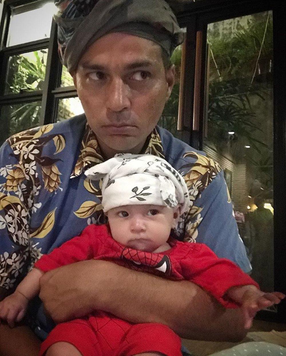 พ่อเรย์-น้องมิก้า