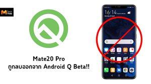 Google แอบลบ Huawei Mate20 Pro ออกจากอุปกรณ์ที่รองรับ Android Q Beta แล้ว