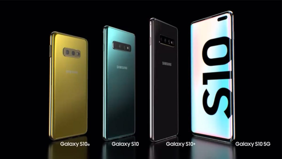 Samsung Galaxy S10/ S10+/ S10e และ S10 5G กับหน้าจอเจาะรูฝังกล้องแบบใหม่สุดล้ำ infinity-O
