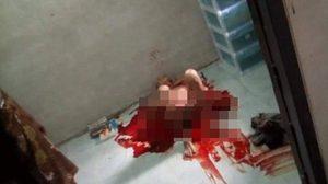 หนุ่มใหญ่เมืองคอนคลั่ง คว้ามีดคัตเตอร์ปาดคอตัวเองบาดเจ็บสาหัส