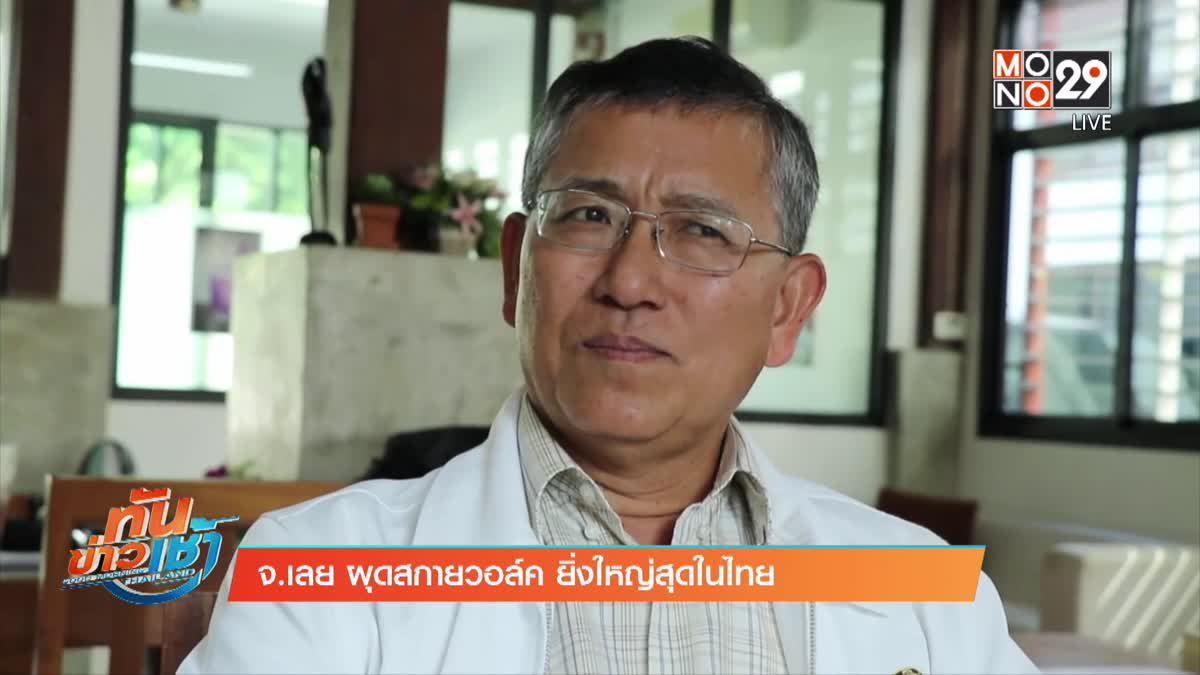 จ.เลย ผุดสกายวอล์ค ยิ่งใหญ่สุดในไทย