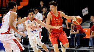 สิงคโปร์ เปิดสวย เอาชนะ อินโดนีเซีย 64-40 ศึกยัดห่วง Stankovic Cup