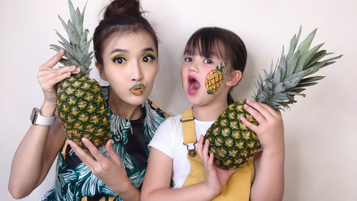 สับปะรด สับปะรด  ทริคแต่งหน้าสำหรับสาวมือใหม่ สดใส ต้อนรับ ซัมเมอร์