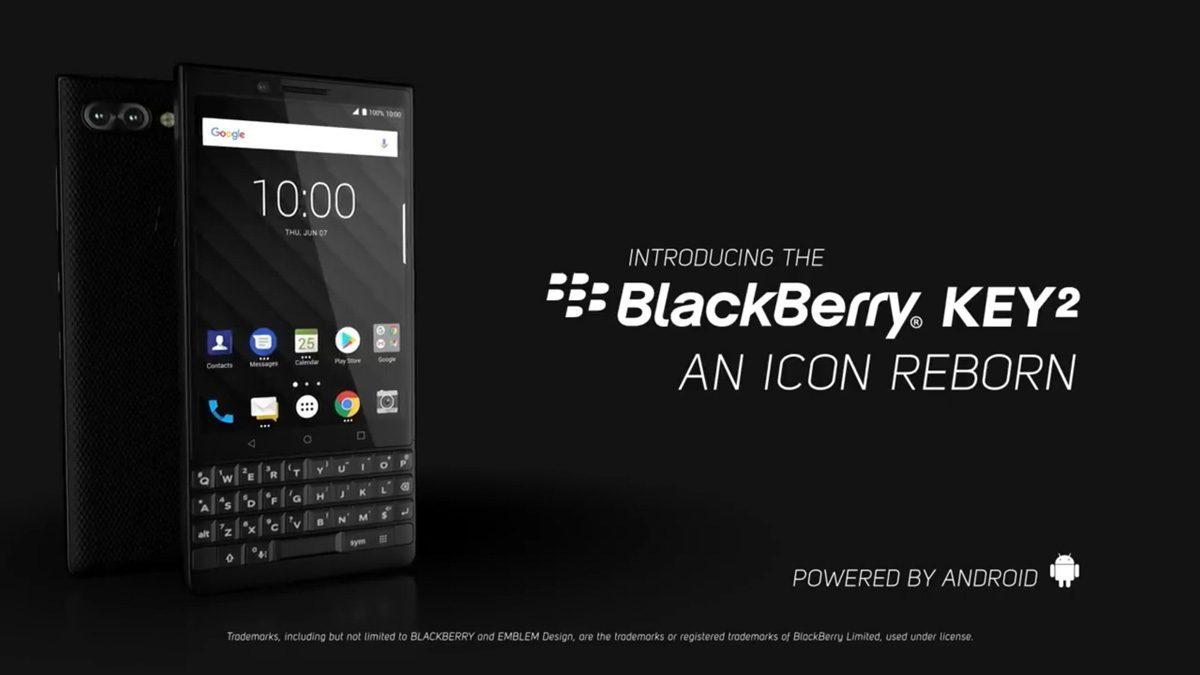 BackBerry KEY2 มาพร้อมกล้องหลังคู่ และคีย์บอร์ด QWERITY