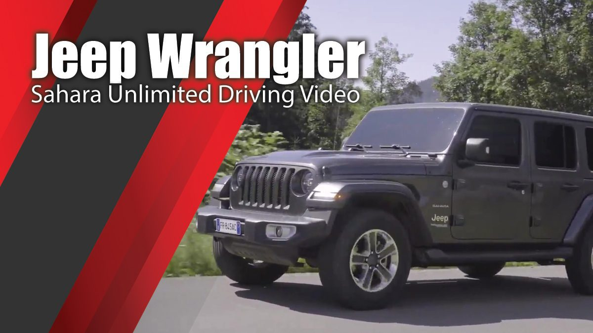 Jeep Wrangler Sahara Unlimited Driving Video