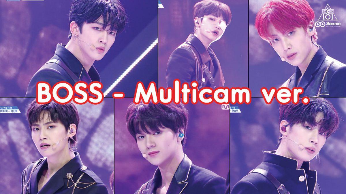 PRODUCE X 101ㅣวีดีโอ 1:1 - NCT U ♬BOSS (Multicam ver.) การแข่งขันรอบ Group Battle