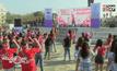 ฟิลิปปินส์จัดกิจกรรมเต้นหยุดความรุนแรงต่อสตรี