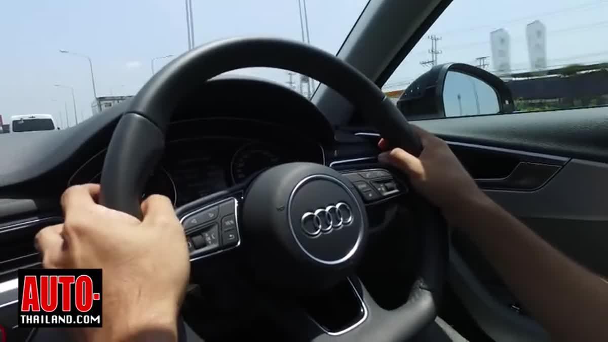 ทดลองขับ AUDI A4 Q3 Q7 ถ้าเน้นสมรรถนะขับขี่ รถยนต์ AUDI คืออีกหนึ่งตัวเลือกที่น่าสนใจ