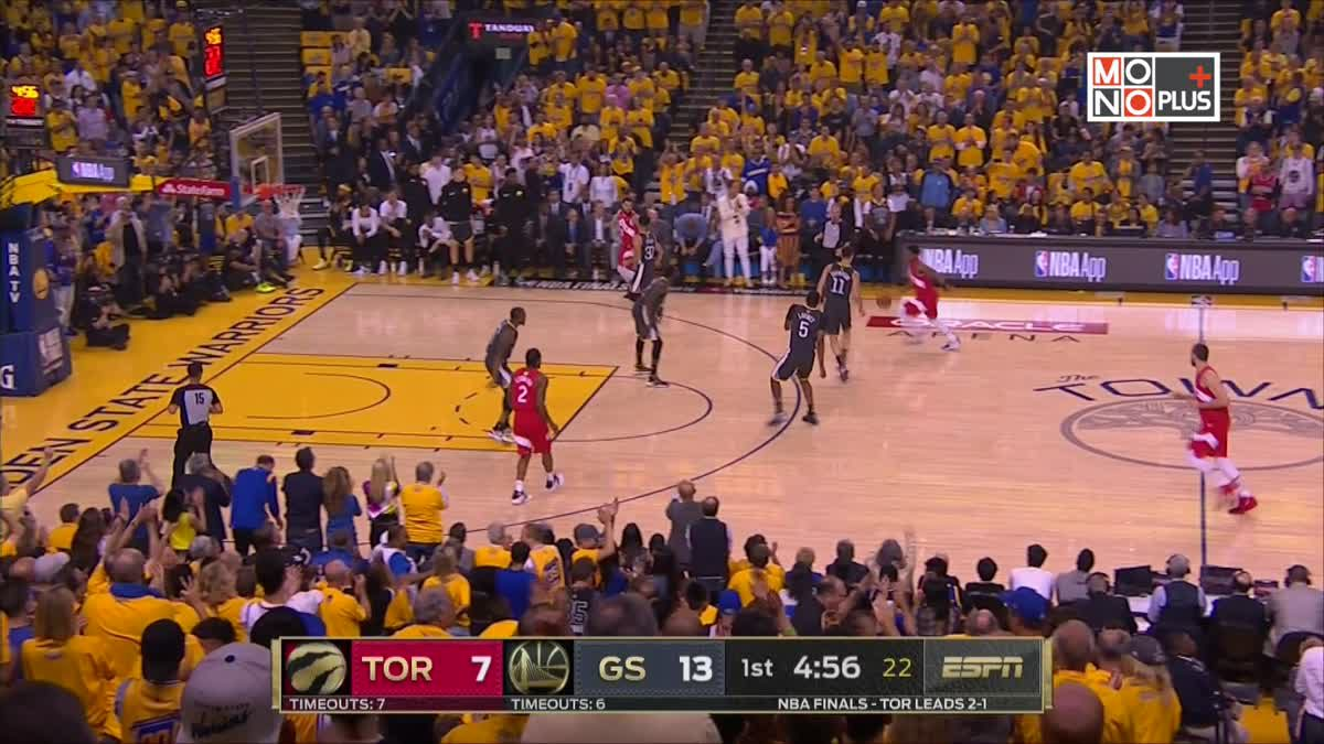 [Highlight] Golden State Warriors VS. Toronto Raptors [ GAME 4 ]