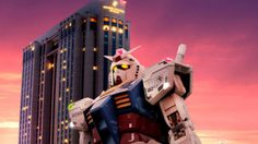 ห้องพักธีม Mobile Suit Gundam เปิดแล้วที่ Grand Pacific Le Daiba hotel