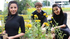 ใบเตย นำทีมศิลปินจิตอาสา ร่วมปลูกดอกดาวเรืองในสวน หยาดเหงื่อพระราชา