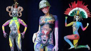 เพ่งจนปวดตา! บุกงานประลองบอดี้เพ้นท์สุดยิ่งใหญ่ของโลก World Bodypainting Festival