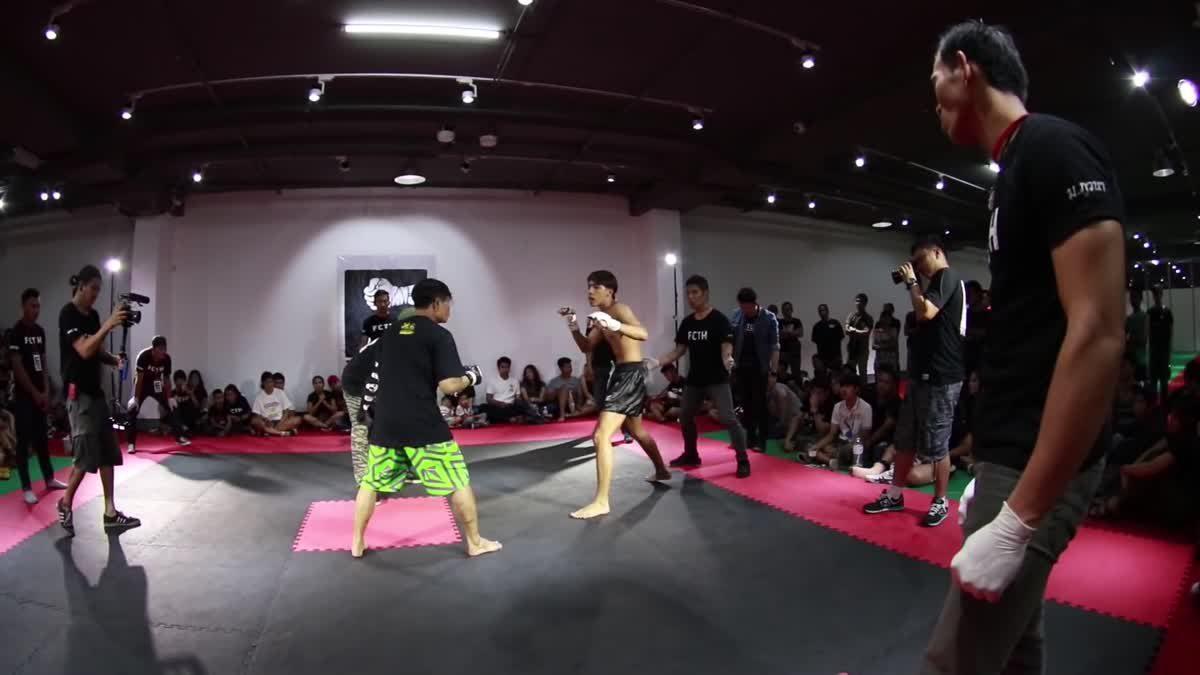 Fight Club Thailand 2017 ป้อม x ตั๋งชลาชัย คู่ที่ 220