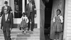 รูบี บริดเจส เด็กหญิงแอฟริกัน-อเมริกัน คนแรก ที่ได้เข้าโรงเรียนประถมคนขาว
