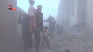 ไฟล้างไฟ! ชมเหตุการณ์จริง ขณะรัสเซียทิ้งบอมบ์ใส่ชาวบ้านในซีเรีย