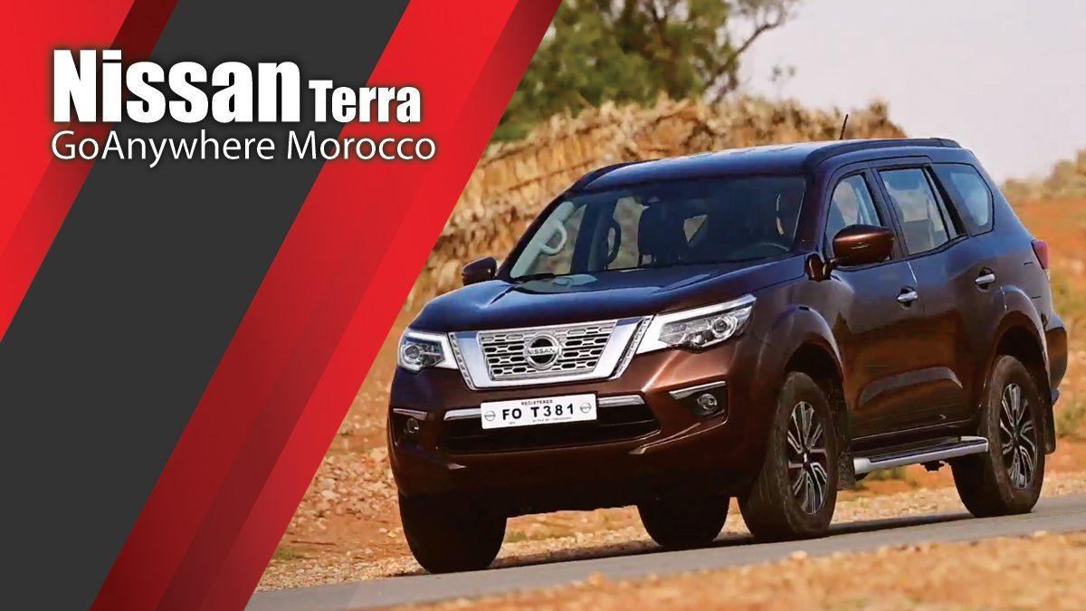 Nissan GoAnywhere Morocco - Nissan Terra