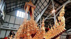 พระมหาพิชัยราชรถ พระราชยานที่ใช้ประดิษฐาน พระโกศพระบรมอัฐิ