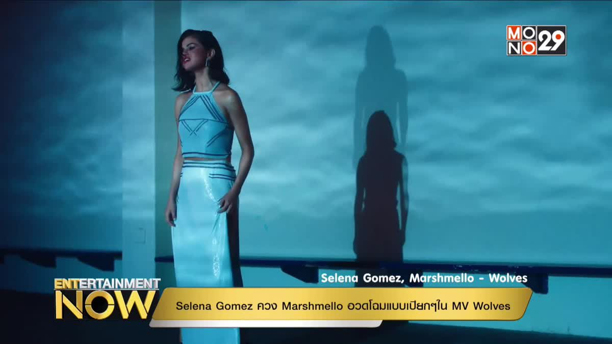 Selena Gomez ควง Marshmello อวดโฉมแบบเปียกๆใน MV Wolves