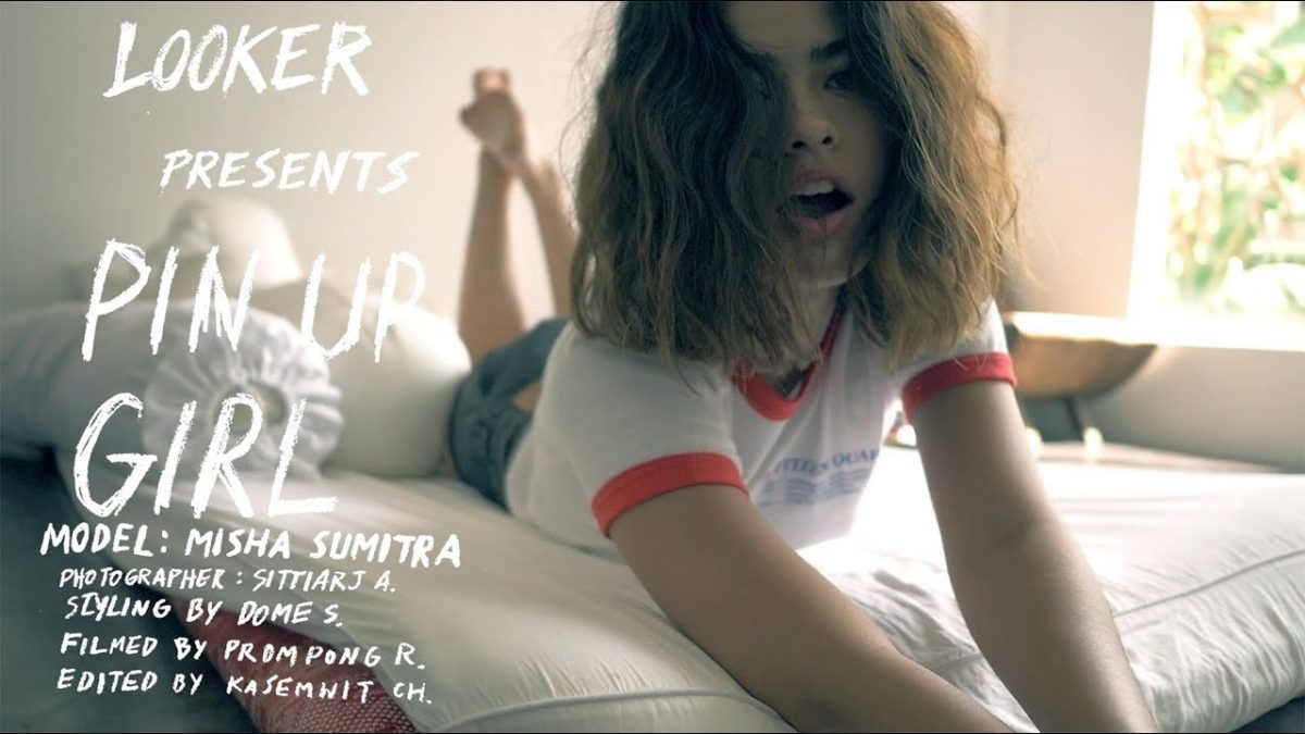 LOOKER PIN UP GIRL 079 with MISHA SUMITRA