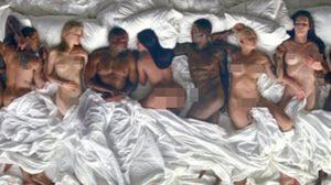 เทย์เลอร์ สวิฟต์ ปรี๊ด ภาพนอนเปลือยใน MV 'Famous' คานเย่ เวสต์