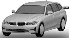 เผยภาพสิทธิบัตรใหม่ของ BMW Series 3 Touring รุ่นใหม่ปี 2019