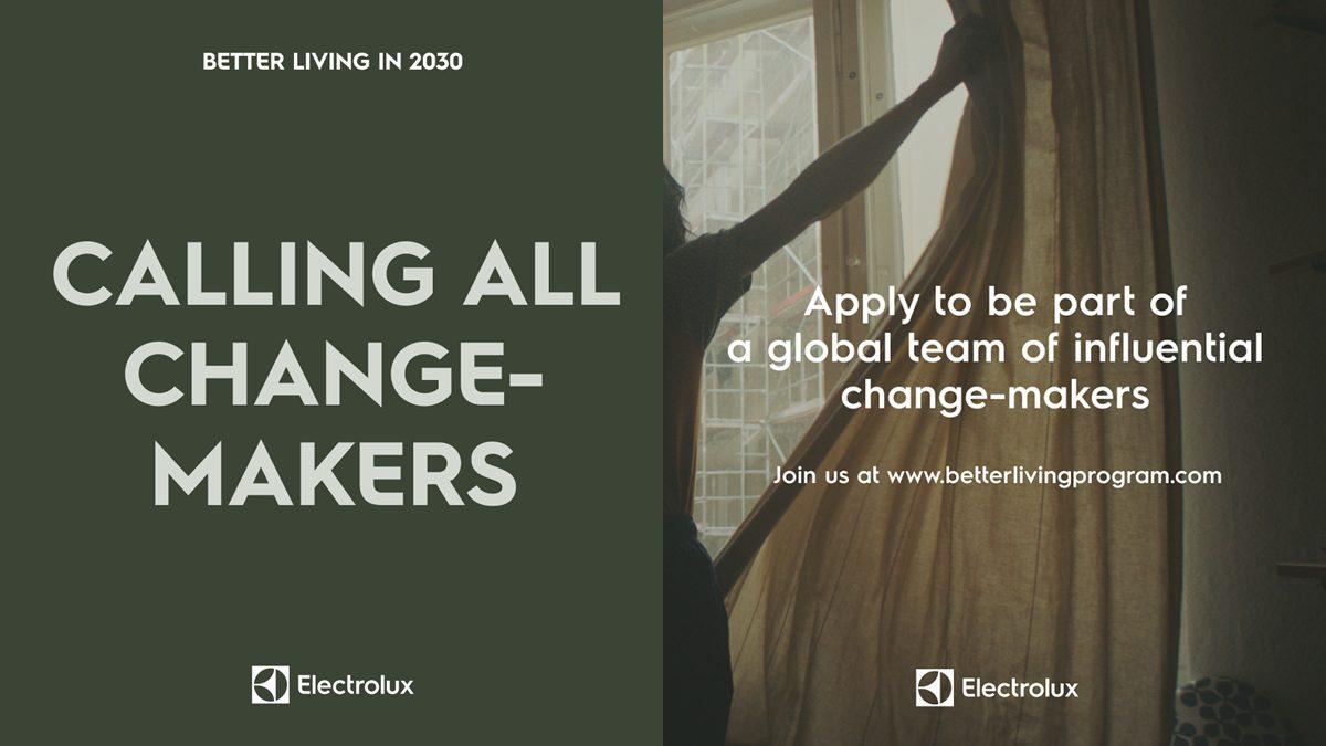 อีเลคโทรลักซ์ เชิญชวนเยาวชนไทยทั่วประเทศ ร่วมแสดงความคิดสร้างสรรค์ผ่านแคมเปญ Better Living in 2030