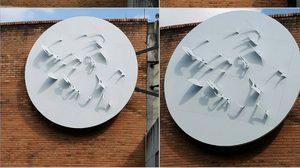 น่าชื่นชม คณะสถาปัตยกรรม มช. สร้างประติมากรรมแสงแดด ภาพพระพักตร์ในหลวง ร.9