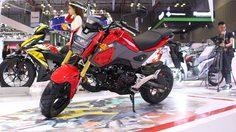 2017 Honda MSX125 มอเตอร์ไซค์ไซส์เล็ก เปิดตัวที่ เวียดนาม