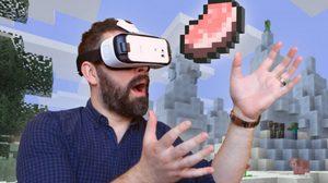 เจ๋ง!! Minecraft Gear VR Edition มันส์ทะลุจอเต็มตาผ่าน Samsung Gear VR