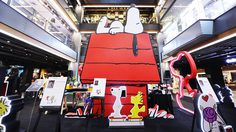 Peanuts Global Artist Collective ยกขบวนผองเพื่อนสนูปี้ บุกใจกลางสยาม