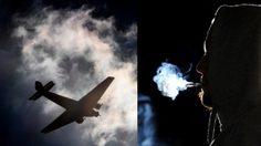 ชายชาวอังกฤษวัย 46 ปี ถูกตัดสินจำคุกถึง 9 ปี หลังจากแอบ สูบบุหรี่ บนเครื่องบิน