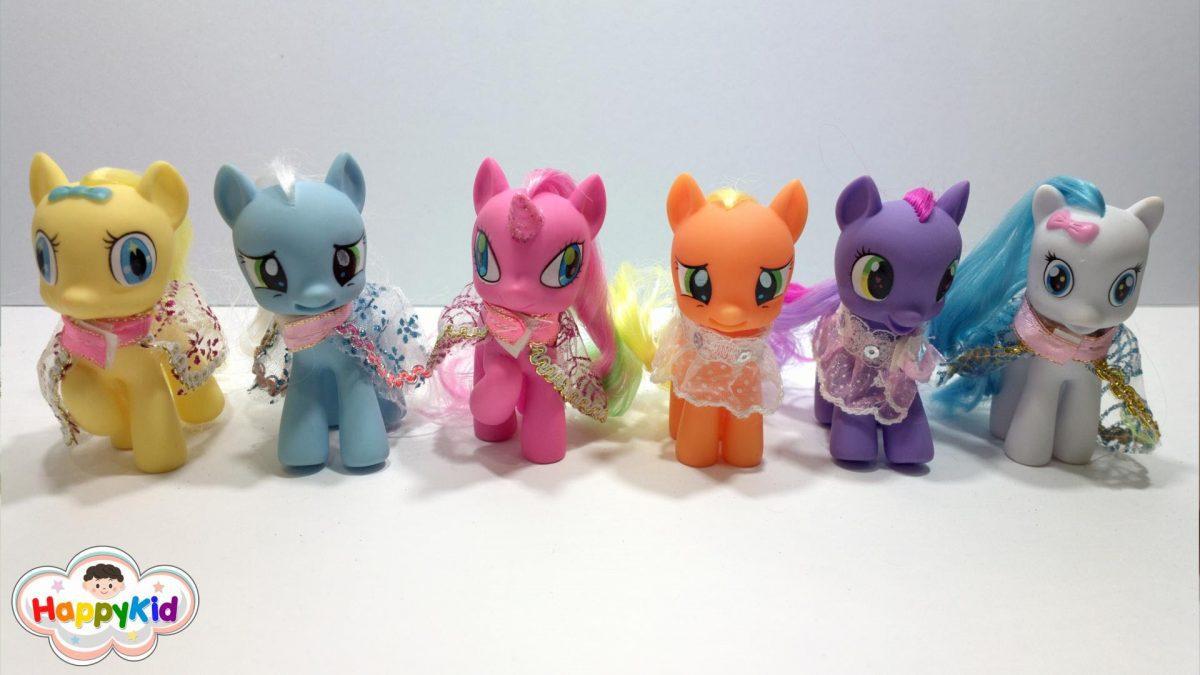 เรียนรู้สี ตอน 2 | My Little Pony | ลิตเติ้ลโพนี่ | ตัวการ์ตูนโพนี่ | Learn colors in Thai Language