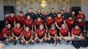 'นิว-ตั้ม' นำทัพ! แข้ง ทีมชาติไทย รายงานตัวอุ่นเกือก ฮ่องกง-ตรินิแดด