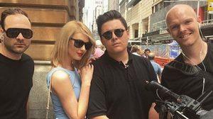 แฟนเพลงเชื่อสนิท! Taylor Swift (ตัวปลอม) ออกเช็คเรตติ้งที่ซิดนีย์