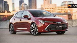 Toyota เปิดตัวรถยนต์ไฮบริด Corolla Hatch ใหม่ ที่ตลาดออสเตรเลีย