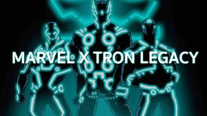 Marvel Superhero กับงานอาร์ตสไตล์ในรูปแบบของ Tron Legacy สุดเฟี้ยว