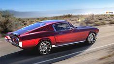 Aviar Motors บริษัท Startup จากรัสเซีย เตรียมสร้างรถยนต์ไฟฟ้าในร่าง Mustang