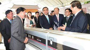 นายกรัฐมนตรี เป็นประธานทำสัญลักษณ์เริ่มก่อสร้างโครงการ รถไฟความเร็วสูง ไทย-จีน แล้ว