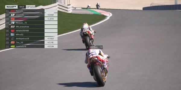 MotoGP Virtual Race
