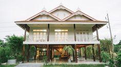 รีวิวสร้าง บ้านเรือนไทยใต้ถุนสูง พื้นที่ใช้สอย 327 ตร.ม. งบ 5 ล้านบาท