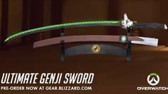 Blizzard ได้เปิดให้สั่งจองดาบของ Genji ในเกม Overwatch ล่วงหน้าได้แล้ว