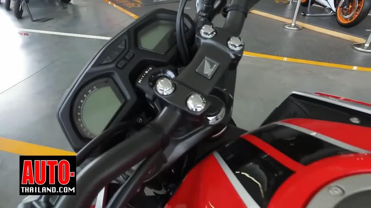 Honda CB650F และ CBR650F 2017 มีอะไรใหม่