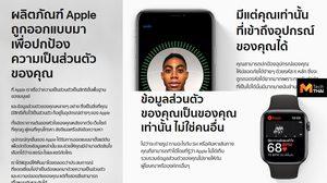 Apple เปิดหน้าเว็บไซต์ Privacy หรือหน้า ความเป็นส่วนตัว แนะนำวิธีปกป้องความเป็นส่วนตัวของผู้ใช้