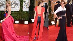สีสัน แฟชั่น พรมแดง ลูกโลกทองคำ Golden Globe Awards 2014