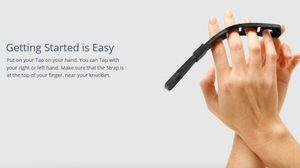 TAP แป้นคีย์บอร์ดสวมมือ ไอเดียล้ำเลิศ สามารถพิมพ์ได้ทุกพื้นผิว