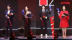 ผลรางวัล คมชัดลึก อวอร์ด ครั้งที่ 17 บิวกิ้น-เต้ย คว้านักแสดงนำยอดเยี่ยม