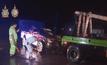 รถเก๋งชนกระบะบาดเจ็บ 8 คน ที่แม่สอด